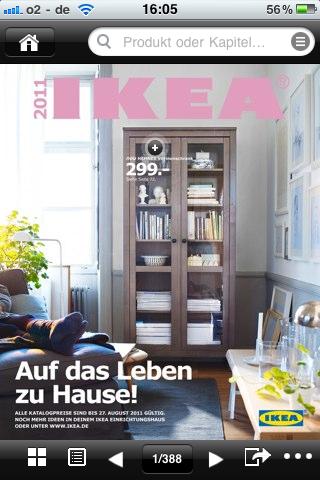 ikea katalog f r iphone billy ivar expedit malm und co. Black Bedroom Furniture Sets. Home Design Ideas