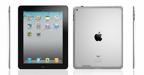 iPad 2 mockup