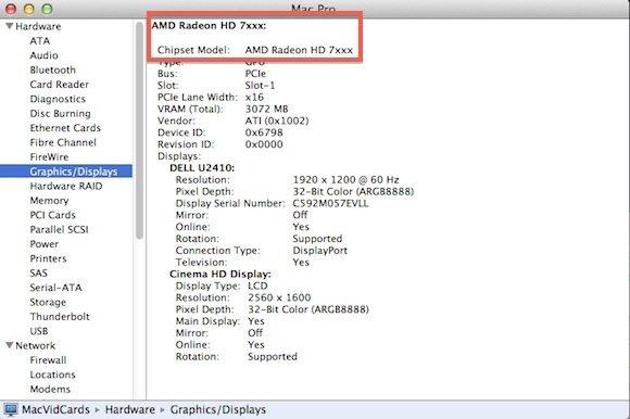 ATI Radeon 7000 unter OS X 10.8.3