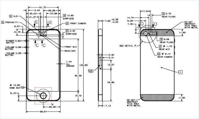 iPhone 5s: Richtlinien für Schutzhüllen. Bild: AppleInsider