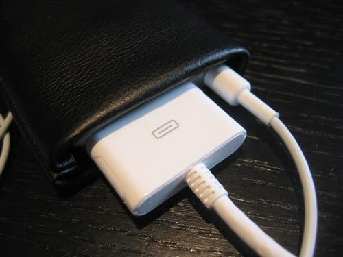iPod nano - selbstgemachte Lederhülle