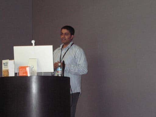 Amit Singh bei Meet the Authors