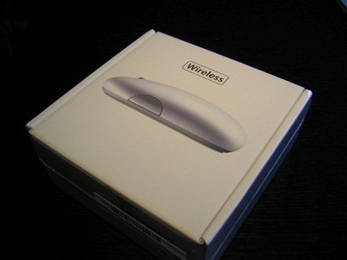 Apple Mighty Mouse - Verpackung