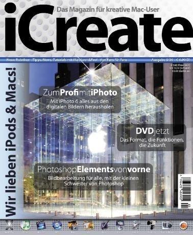 iCreate - Cover von Zeitschrift