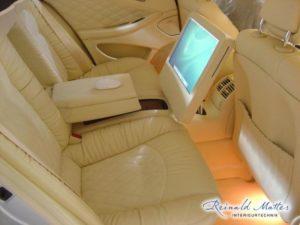 iMac im Mercedes W219 CLS,