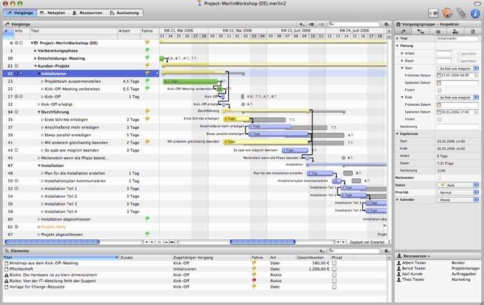 Merlin - Screenshot