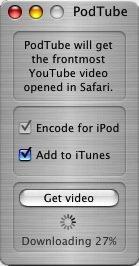 PodTube - Screenshot