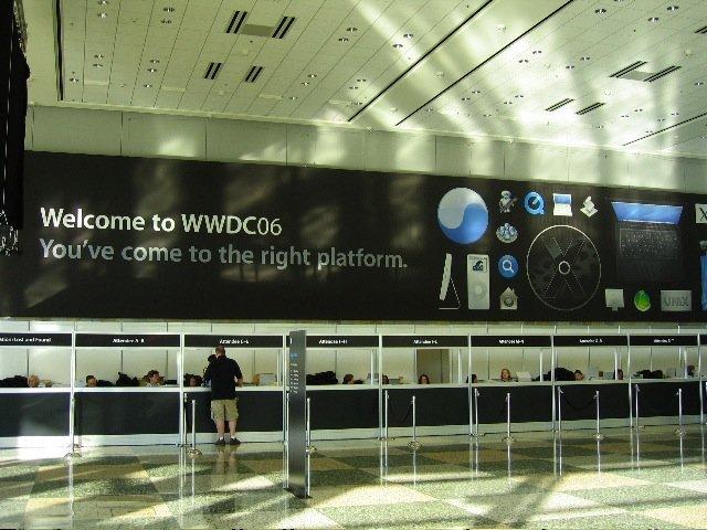 WWDC 2006 - Eingangsbereich