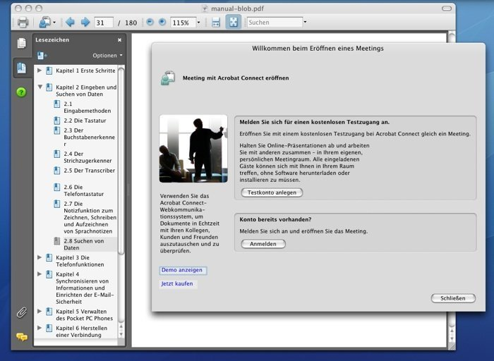 Adobe Reader 8 - Screenshot