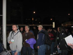 MacWorld 2007 - Camper vor Moscone West