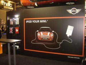 Mini - Stand auf Apple Expo 2007