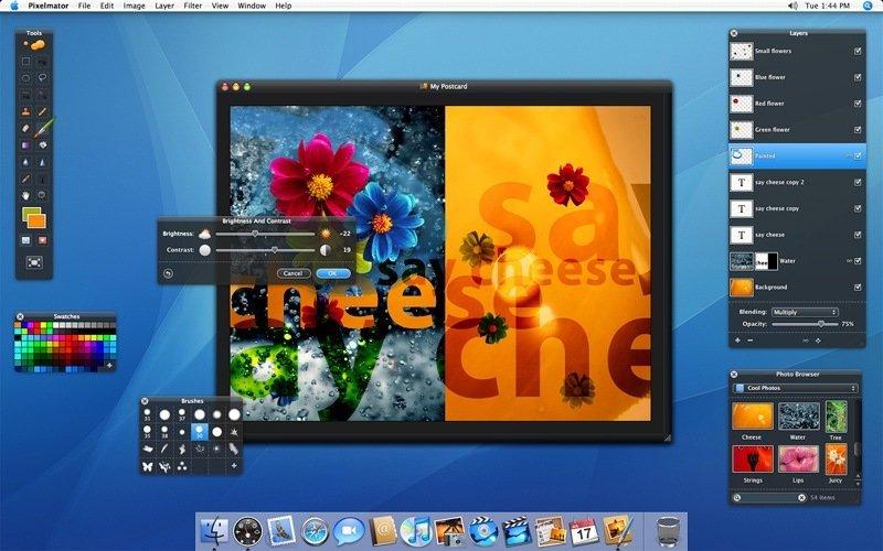 Pixelmator - Screenshot