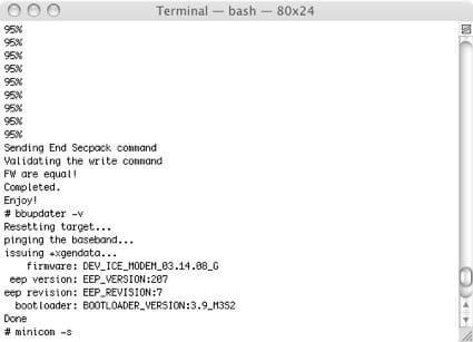 iPhone-Unlock via Terminal