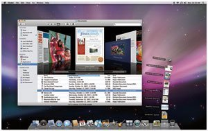 Mac OS X 10.5 - Screenshot