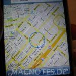 Google Maps mit WLAN-Ortung