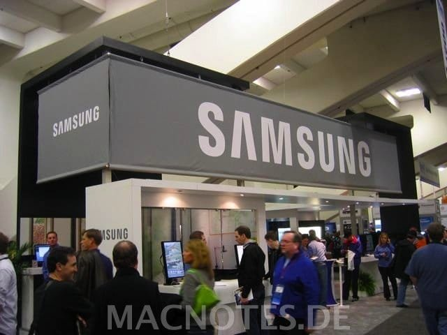 MacWorld 2008 - Samsung-Stand