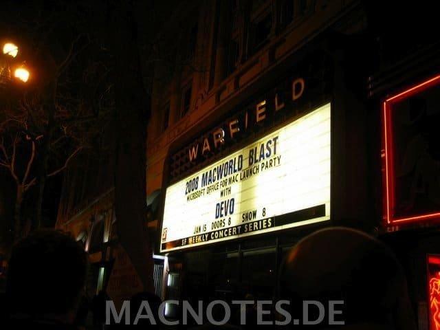 MacWorld Blast 2008