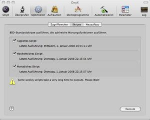 OnyX - Screenshot