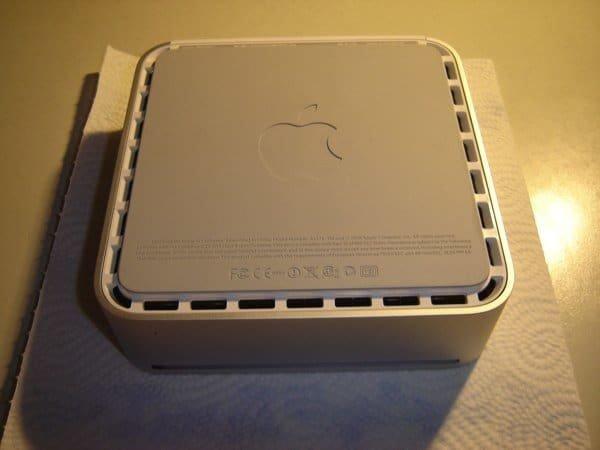 Mac mini - Unterseite