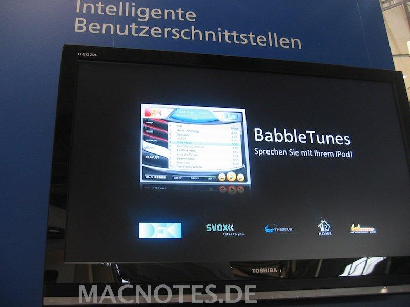 BabbleTunes auf der CeBit 2008