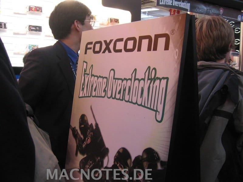 Foxconn auf der CeBit 2008