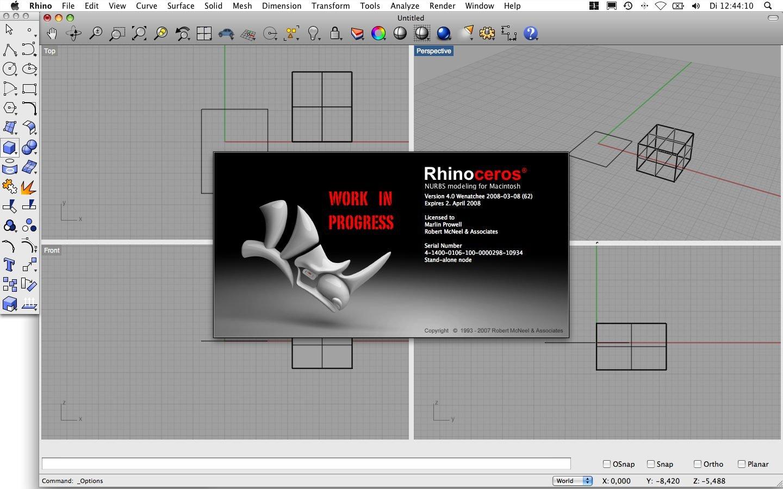 Rhino 4 für Mac