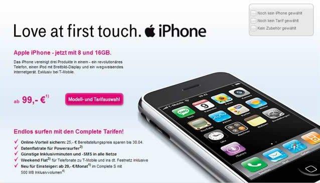 iPhone-Werbung