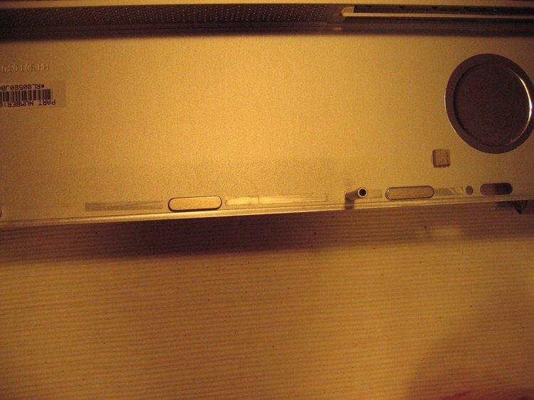 iMac - Magnete zur Fixierung der Glasscheibe
