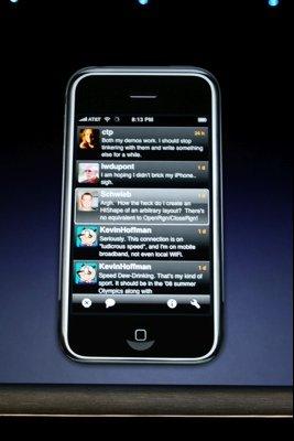 Twitterrific auf dem iPhone