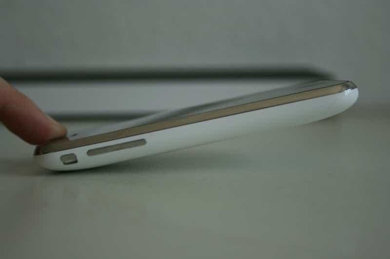 iPhone 3G - Druck auf Kante