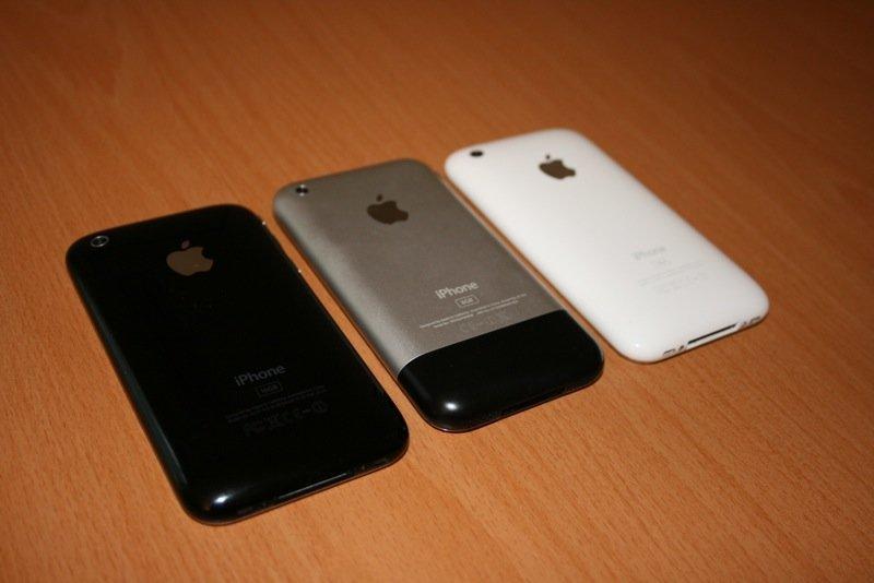 iPhone Classic und 3G im Vergleich