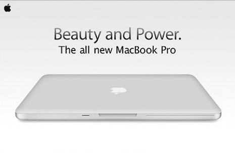 Sieht so das neue MacBook Pro 2008 aus?
