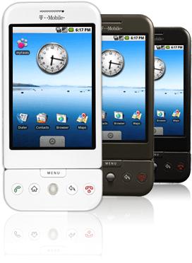 Google G1 in der T-Mobile Edition