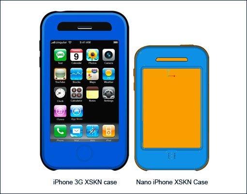 iPhone nano - XSKN Case
