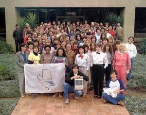 Das Macintosh-Produktionsteam (1983)