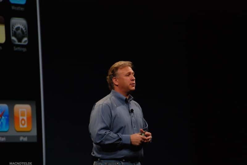 Phil Schiller auf der MacWorld 2009