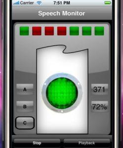 iPhone in der Stottertherapie