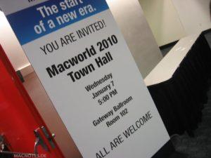 Diskussion über MacWorld 2010