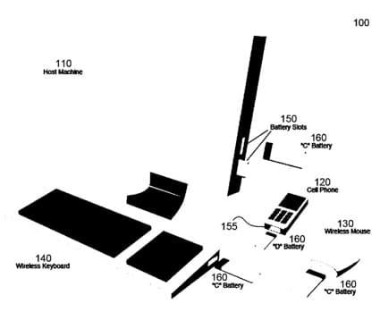 Patentskizze zeigt Apples Idee von modularen Akkus in unterschiedlichen Geräten