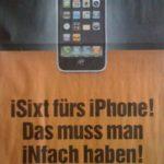 Sixt wirbt mit iPhone-Bildern unter CC-Lizenz