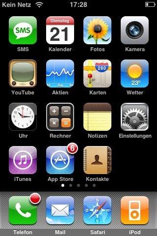 """iPhone """"Kein Netz"""""""