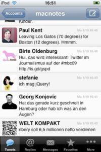 Tweetie - Screenshot