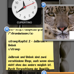 CrazyDashboard: Dashboard auf dem iPhone