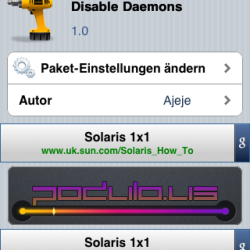 Disable Daemons gibt Arbeitsspeicher am iPhone frei