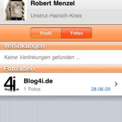 "Mobiles ""Gruscheln"" in iPhone-App VZ-Netzwerke"
