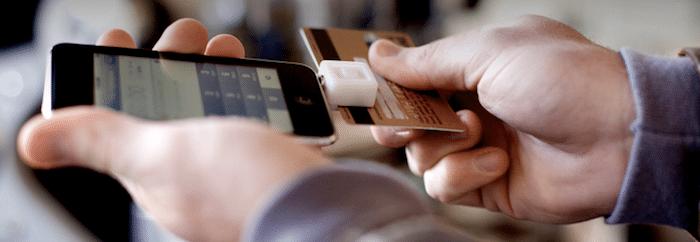 Kreditkarte scannen mit Square