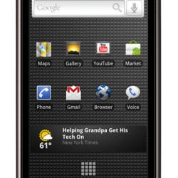 Nexus One, das neue Android-Smartphone von Google