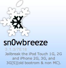 Sn0wBreeze 1.3 für iPhone OS 3.1.3 veröffentlicht