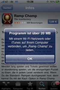 Neues UMTS-Downloadlimit