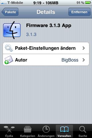 Firmware 3.1.3 App
